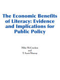 The Economic Benefits of Literacy Evidence and Implications for Public Policy