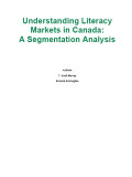 Understanding Literacy Markets in Canada: A Segmentation Analysis